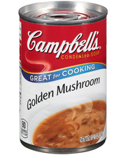 Campbell's® Condensed Golden Mushroom Soup, 10.5 oz.