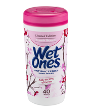 Wet Ones Antibacterial Fresh Scent Canisters 40 Ct Canister