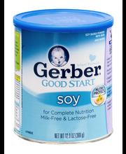 Gerber Good Start Soy Non-GMO Powder Infant Formula, Stage 1,...