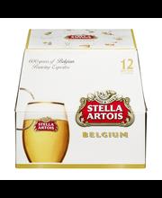 Stella Artois Lager, 12 pk 11 fl. oz. Bottles