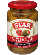 Star® Pimiento Stuffed Queen Olives 7 oz. Glass Jar