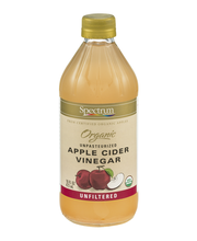 Spectrum Naturals Organic Apple Cider Vinegar Unpasteurized