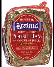 Krakus® Polish Ham 3 lb Package