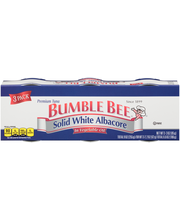 Bumble Bee® Solid White Albacore in Vegetable Oil 3-3 oz. Pac...
