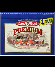 Land O'Frost® Premium® Honey Smoked Turkey Breast 16 oz. Zip Pak