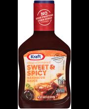 Kraft Sweet & Spicy Barbecue Sauce 18 oz. Bottle