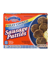 Tennessee Pride Fully Cooked Original Patties 8 Oz Sausage 8 ...