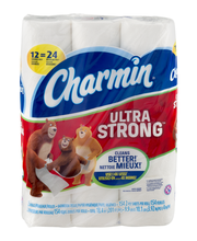 Ultra Strong Charmin Ultra Strong Toilet Paper 12 Double Rolls