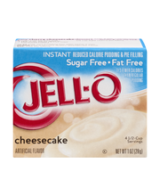 Jell-O® Sugar Free Fat Free Cheesecake Instant Reduced Calori...