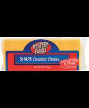 Wf Sharp Cheddar Cuts