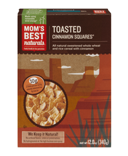 Mom's Best® Toasted Cinnamon Squares® Cereal 12 oz. Box