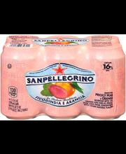 San Pellegrino Ficodindia E Arancia Sparkling Prickly Pear & ...