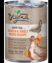 Purina Beyond Grain Free Chicken & Sweet Potato in Gravy Dog ...