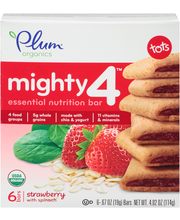 Plum Organics® Mighty 4™ Strawberry with Spinach Essential Nu...
