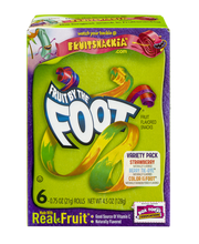 Betty Crocker Fruit By The Foot Fruit Flavored Snacks - 6 CT