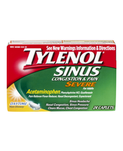 Tylenol® Sinus Severe Day Non-Drowsy Caplets 24 ct Box