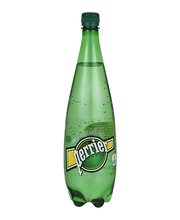 PERRIER Sparkling Natural Mineral Water, 33.8-ounce plastic b...