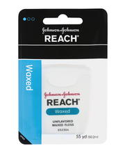 Johnson & Johnson Reach® Unflavored Waxed Floss 55 yd. Pack