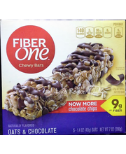 General Mills Fiber One Oats & Chocolate Chewy Bars