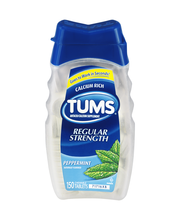 Tums® Regular Strength 500 Peppermint Chewable Tablets Antaci...