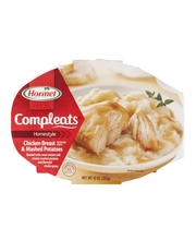 Hormel® Chicken Breast & Gravy with Mashed Potatoes Compleats...
