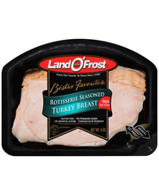 Land O'Frost® Bistro Favorites® Rotisserie Seasoned Turkey Br...