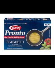 Barilla® Pronto™ Half-Cut Spaghetti Pasta 12 oz. Box