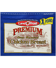 Land O' Frost® Premium® Oven Roasted Chicken Breast 16 oz. Zi...