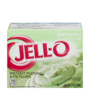 Jell-O® Pistachio Instant Pudding & Pie Filling Mix 3.4 oz. Box
