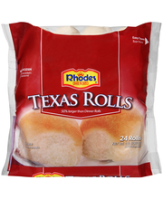 Rhodes Bake-N-Serv® Frozen Texas Rolls Dough 24 ct Bag
