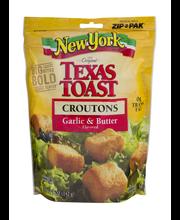 New York Bakery® Texas Toast Garlic & Butter Croutons 5 oz. Bag