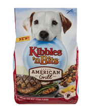 Kibbles 'n Bits American Grill Grilled USA Beef Steak Flavor ...