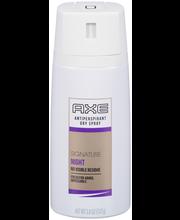 AXE® Signature Night Dry Spray Antiperspirant 3.8 oz. Aerosol...