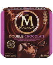 Magnum® Double Chocolate Ice Cream Bars 3 ct Box