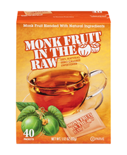 Monk Fruit In The Raw® Zero Calorie Sweetener 40 ct Box
