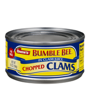 Snow's® Bumble Bee® Chopped in Clam Juice 6.5 oz. Can