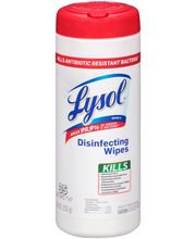 Lysol® Disinfecting Wipes 35 ct Plastic Container