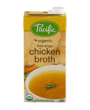 Pacific® Organic Free Range Chicken Broth 32 fl. oz. Aseptic ...