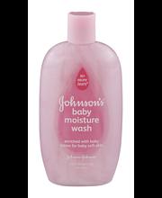 Johnson's® Baby Moisture Wash 15 fl. oz. Bottle
