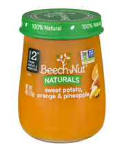 Beech-Nut Naturals Just Sweet Potato, Orange & Pineapple Stage 2