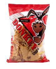 Donkey Authentic Tortilla Chips All Natural Salted