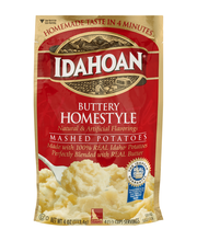Idahoan® Buttery Homestyle Mashed Potatoes 4 oz. Pouch