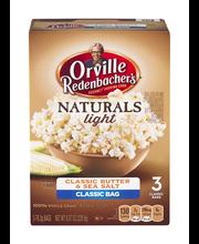 Orville Redenbacher's® Gourmet® Naturals Light Classic Butter...