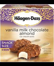 HAAGEN-DAZS Vanilla Milk Chocolate Almond Snack Size Ice Crea...