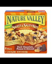 Nature Valley Sweet & Salty Nut Dark Chocolate, Peanut & Almo...