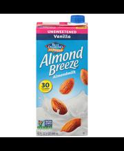 Blue Diamond® Almond Breeze® Unsweetened Vanilla Almondmilk 3...