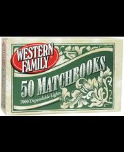 Wf Matches Book