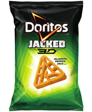 Doritos® Jacked® 3D™ Jalapeno Pepper Jack Flavored Tortilla S...