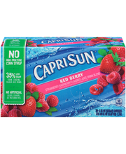 Capri Sun® Red Berry Juice Drink Blend 10-6 fl. oz. Pouches
