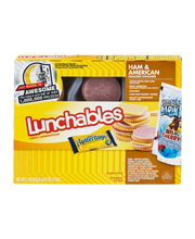 Lunchables Ham & American Cracker Stackers Lunch Combination ...